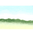 Hand-drawn watercolor background vector