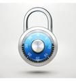 Combination pad lock vector