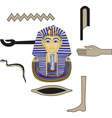 Egyptian elements vector