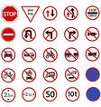Regulatory sign vector
