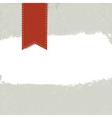 White grunge label on textured dark background vector