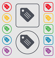 Special offer label icon sign symbol on the round vector