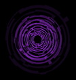 Abstract technology purple circles background vector