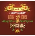 Christmas ornament card vector