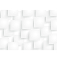 White rectangle abstract background vector