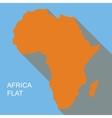 Africa flat vector