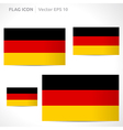 Germany flag template vector
