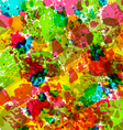 Abstract grunge background colorful blurs - vector