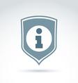 Personal data protection icon conceptual call vector