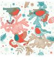 Birds background vector