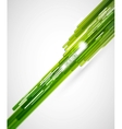 Green straight lines background vector