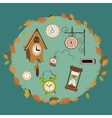 Clocks collection vector