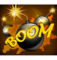 Bomb background vector