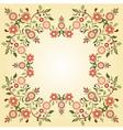 Ottoman motifs design series ninety five vector