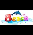 Summer escapade at the beach vector