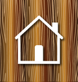 House concept wood background vector