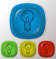 Lightbulb vector