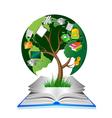 Education tree vector
