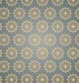 Retro star hexagon pattern on pastel color vector