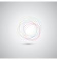 Hand drawn circles vector