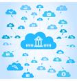 Business a cloud3 vector