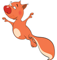 The squirrel cartoon vector