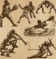 Sport - an hand drawn pack vector