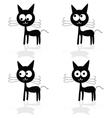Sweet and fuuny cat vector