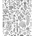 Floral pattern sketch for your design vector