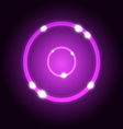 Abstract background with violet circle vector