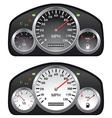 Car dashboards vector