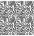 Seamless elegant paisley pattern vector