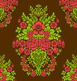 Damask seamless floral pattern royal wallpaper vector