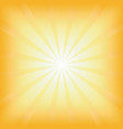 Square summer sun light burst vector