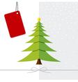 Christmas tree design vector