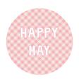 Happy may background4 vector
