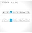 Pagination bars vector
