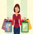 Shopaholic vector