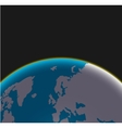 Modern earth background vector