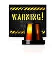 Warning background vector