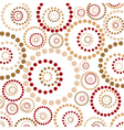 Abstract circles pattern vector