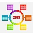 Calendar 2013 part 2 vector
