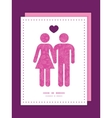 Pink abstract flowers texture couple in love vector
