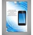 Business blank template vector