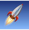 Big rocket vector