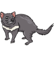 Tasmanian devil cartoon vector