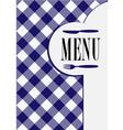 Menu card design vector
