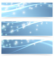 Bright modern swoosh speed sparkling flare line vector