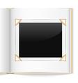 Photo album vector