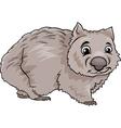 Wombat animal cartoon vector